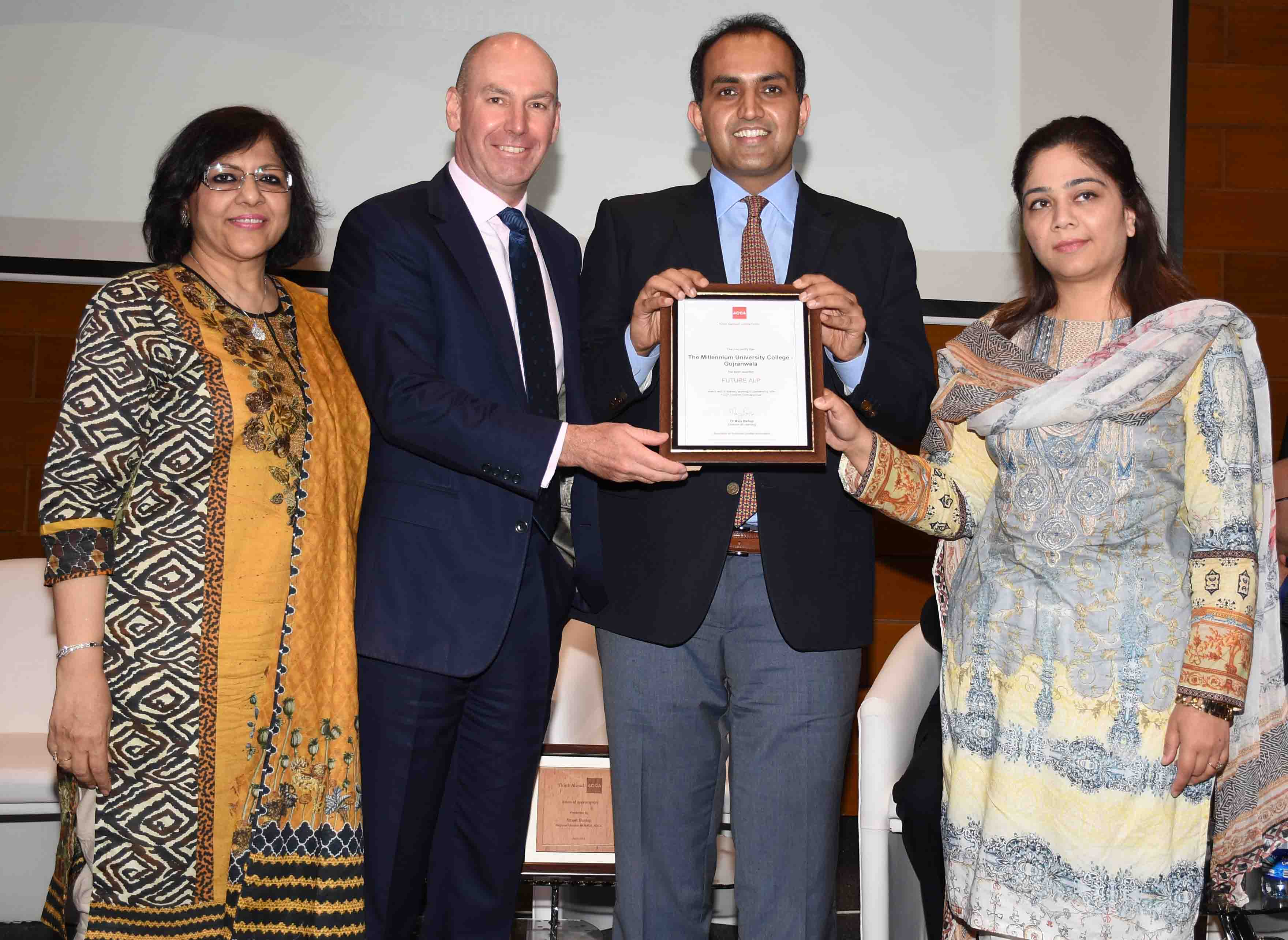 ACCA awards Gold Status to TMUC