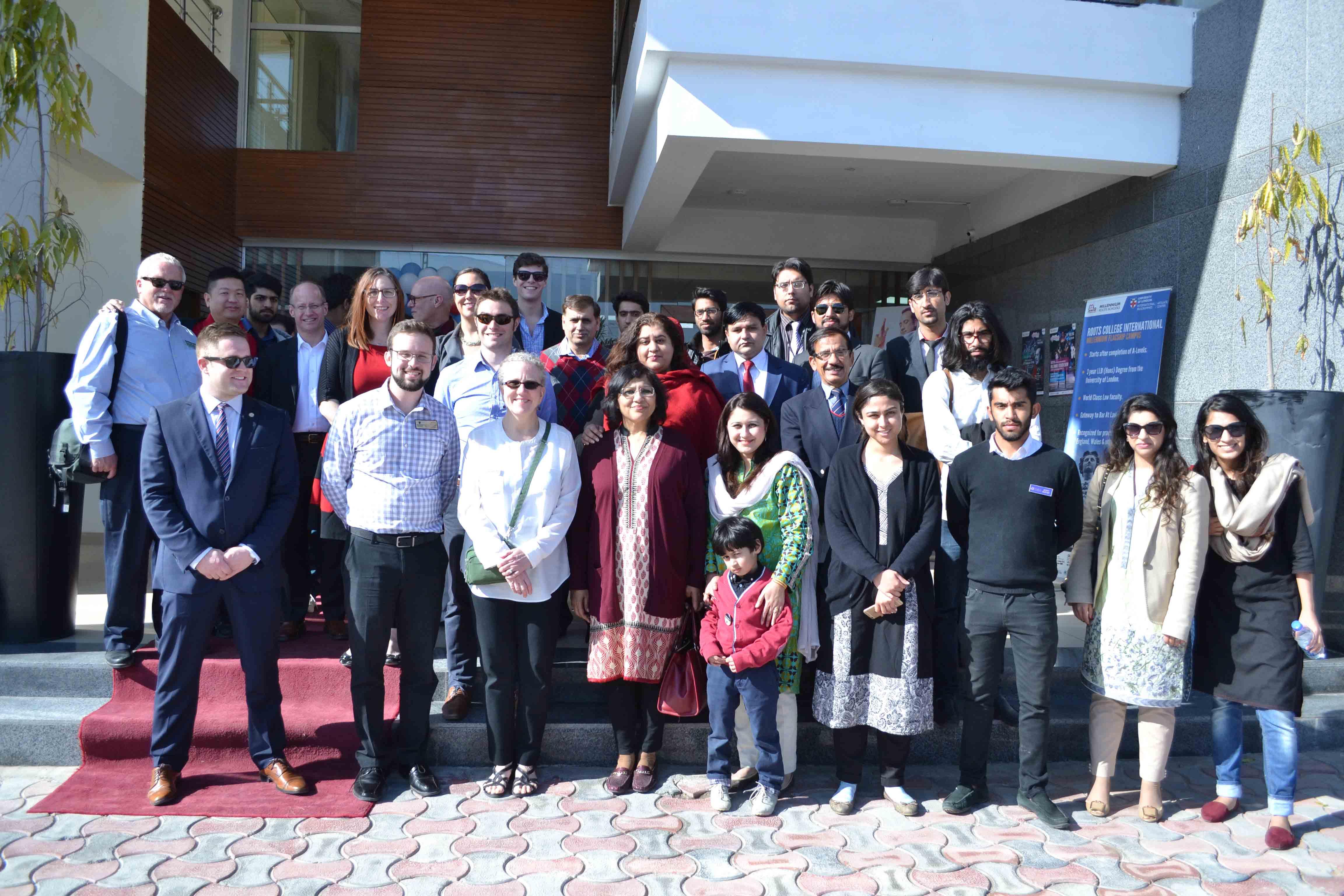 US delegation visits Millennium Universal College