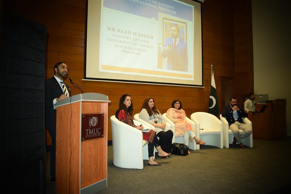 Regional Advisor for UoLIP South Asia Mr. Saad Wasim visits TMUC Islamabad