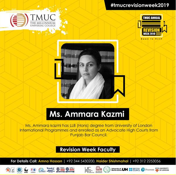 Ammara Kazmi