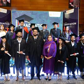 TMUC Holds Graduation Ceremony of University Hertfordshire & Pearson UK Students